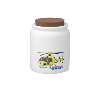 Helicopter Pilot Candy Dish
