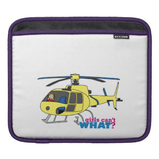 Helicopter Pilot iPad Sleeves