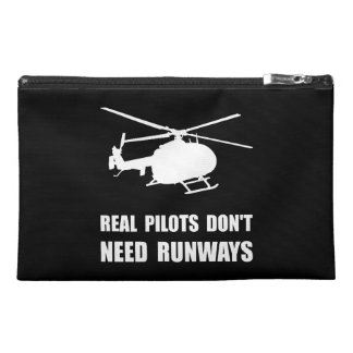 Helicopter Pilot Runways Travel Accessories Bags