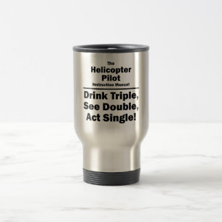helicopter pilot travel mug