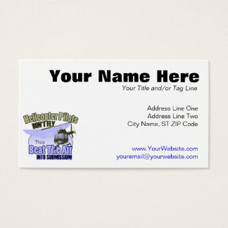 Helicopter Pilots Don't Fly... [OH-58] Business Card