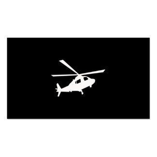 Helicopter Pilots Double-Sided Standard Business Cards (Pack Of 100)