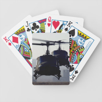 helicopter playing cards