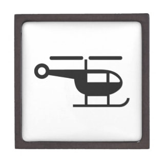Helicopter Premium Jewelry Boxes