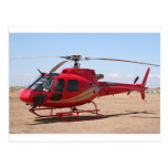 Helicopter, red post cards
