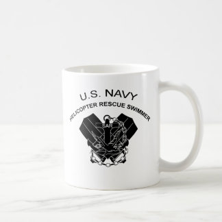Helicopter Rescue Swimmer Classic White Coffee Mug