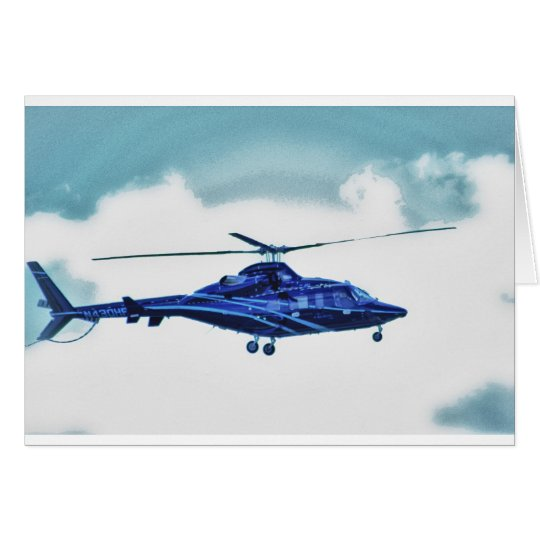 Helicopter Sky Clouds HDR Pictures Photo Shirt Mug Card