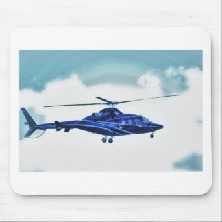 Helicopter Sky Clouds HDR Pictures Photo Shirt Mug Mouse Pads