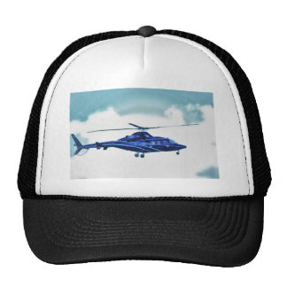 Helicopter Sky Clouds HDR Pictures Photo Shirt Mug Trucker Hat