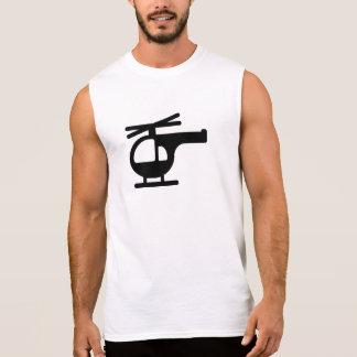 Helicopter Sleeveless Shirt