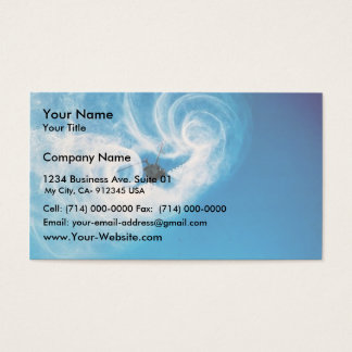 Helicopter Spraying Business Card