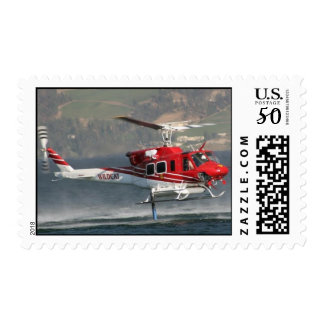 helicopter stamp