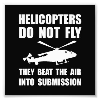 Helicopter Submission Photo Print