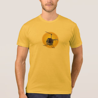 Helicopter T-shirts Cool Men's Flying Chopper Tees