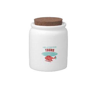 Helicopter Tours Candy Jar