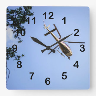 Helicopter Wallclocks
