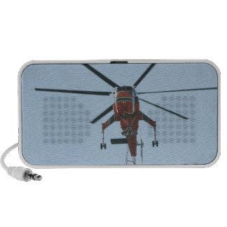 helicóptero laptop altavoces