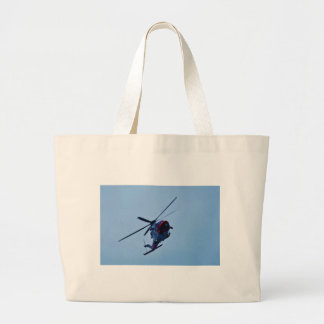 Helicóptero BRITÁNICO del guardacostas Bolsa Lienzo
