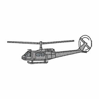 Helicóptero Camiseta Polo Bordada
