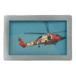 Helicóptero  da Guarda Costeira Belt Buckles