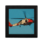 Helicóptero  da Guarda Costeira Jewelry Box