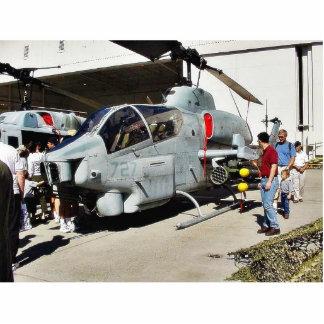 Helicóptero de Airshow Fotoescultura Vertical