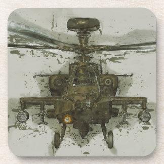 Helicóptero de ataque de Apache Posavasos