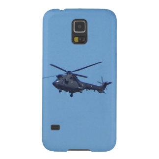 Helicóptero de los militares del puma de Westland Carcasa Para Galaxy S5