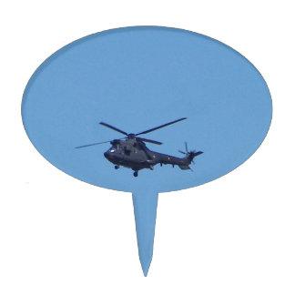 Helicóptero de los militares del puma de Westland Decoraciones Para Tartas