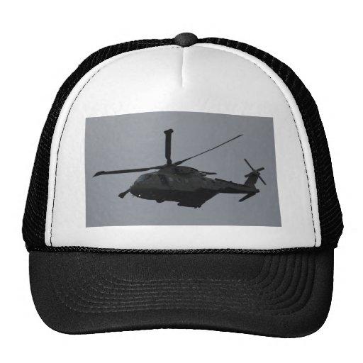 Helicóptero de MERLIN de la Royal Air Force Benson Gorra