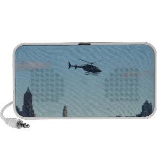Helicóptero de visita turístico de excursión de portátil altavoces