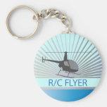 Helicóptero del aviador de R-C Llavero