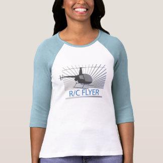 Helicóptero del aviador de R-C Camiseta