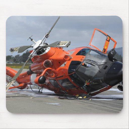 Helicóptero del delfín MH-65 estrellado en Arcata Mouse Pad