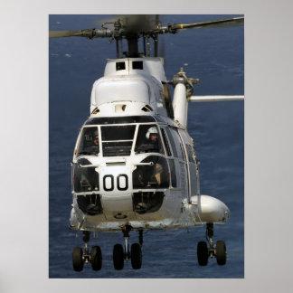 Helicóptero del puma SA-330 Póster