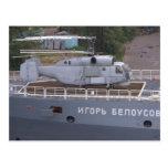 Helicóptero del ruso de Kamov KA27 Tarjetas Postales