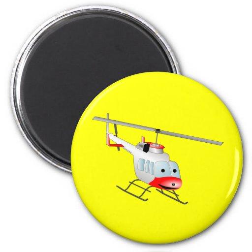 helicóptero iman