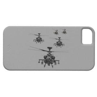 Helicóptero impresionante de Apache iPhone 5 Case-Mate Cárcasa