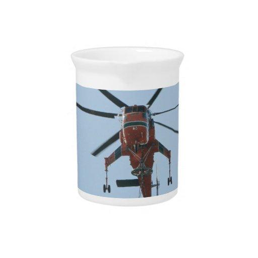 helicóptero jarra