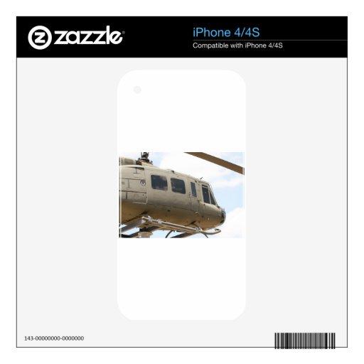 Helicóptero militar skins para iPhone 4