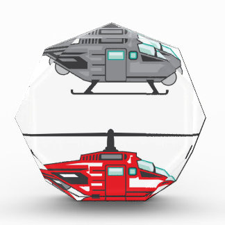 Helicóptero moderno del concepto