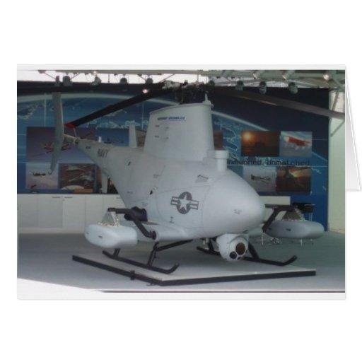 Helicóptero sin tripulación del EXPLORADOR del Tarjeta De Felicitación