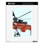 helicóptero skin para el NOOK color