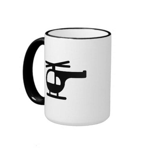 Helicóptero Taza De Café