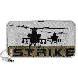 Helicópteros de Apache Notebook Altavoz