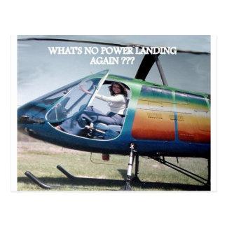 helicópteros mercado elecric tarjetas postales