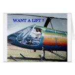 helicópteros, teleadicto tarjetón