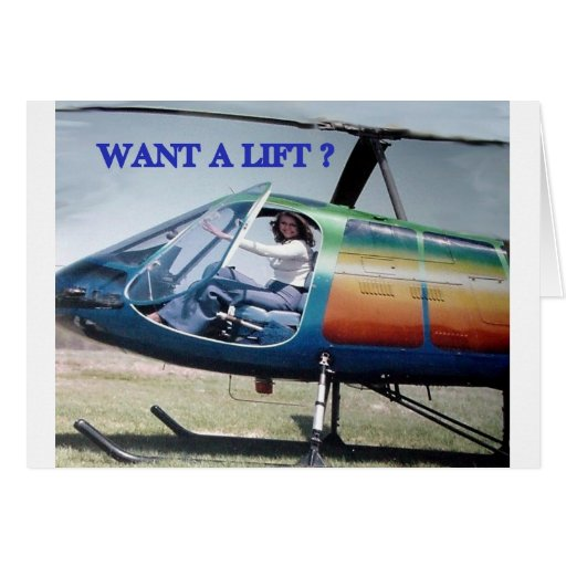 helicopters, couch potato greeting cards