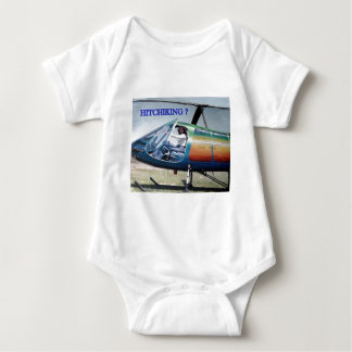 helicopters, elecric outlet baby bodysuit