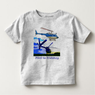 helicopters Pilot in training Toddler T-shirt
